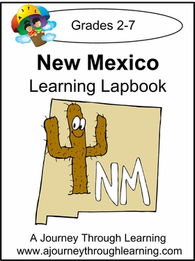 New Mexico State Study Lapbook--8.00
