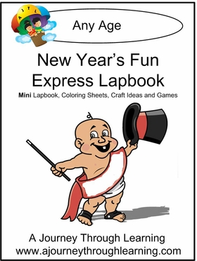 New Year's Fun Express (Quick) Lapbook