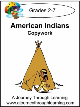 American Indians  Cursive Style 2--4.50