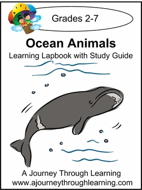 Ocean Animals Lapbook with Study Guide-8.00