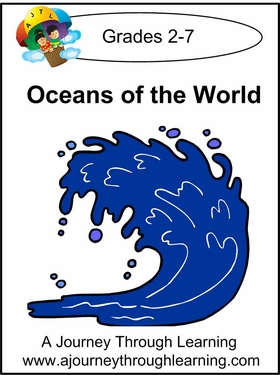Oceans of the World Lapbook with Study Guide