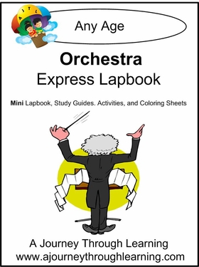 Orchestra Express (Quick) Lapbook