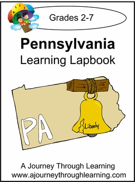 Pennsylvania State Study Lapbook--8.00