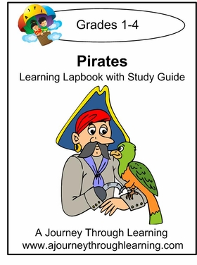 Pirates Grades 1-4 Lapbook with Study Guide--8.00