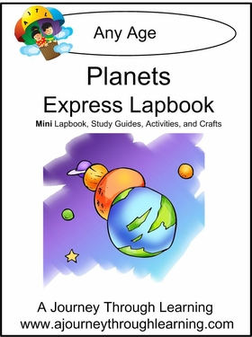 Planets Express (Quick) Lapbook