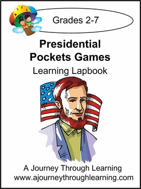 Presidential Pocket Games Lapbook--8.00