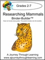 Researching Mammals Binder-Builder-8.00