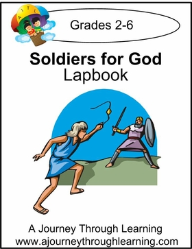 Soldiers for God Express (Quick) Lapbook