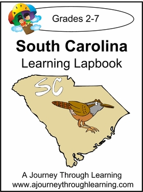 South Carolina State Study Lapbook--8.00