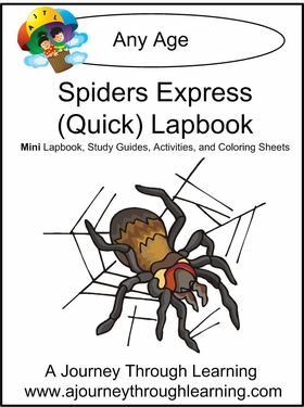 Spiders Express (Quick) Lapbook