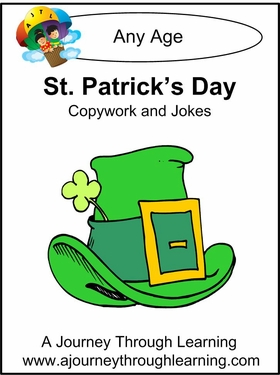 St. Patrick's Day Copywork and Jokes
