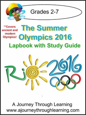 Summer Olympics 2016 Lapbook with Study Guide