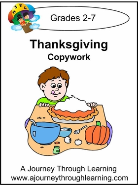 Thanksgiving Cursive Style 1--4.50