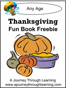 Thanksgiving Fun Book Freebie