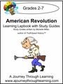 American Revolution Lapbook with Study Guide--8.00