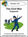 The Civil War Cursive Style 1-4.50