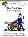 The Civil War Notebooking Pages --4.50