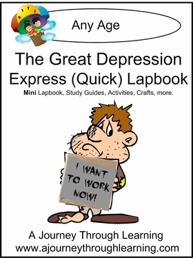 Great Depression Express (Quick) Lapbook