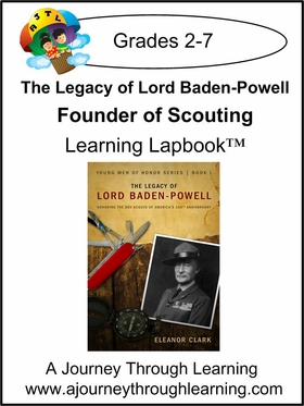 Legacy of Lord Baden-Powell, Founder of Scouting Lapbook-5.00