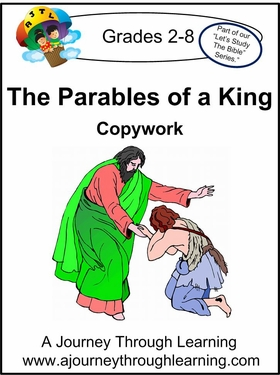 The Parables of A King Cursive Style 2--4.50