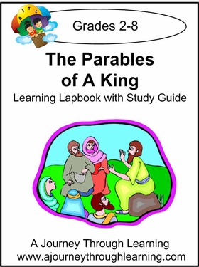 Jesus- Parables of a King Lapbook with Study Guide--8.00