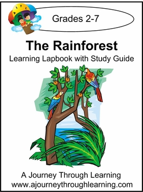 Rainforest Lapbook with Study Guide-8.00