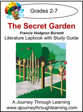 Secret Garden Lapbook with Study Guide-5.00
