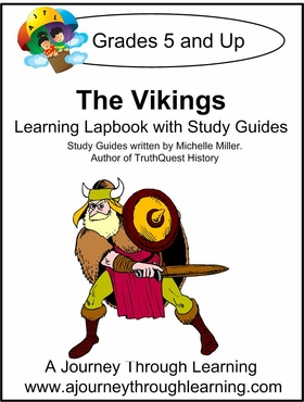 Vikings Lapbook with Study Guide--8.00