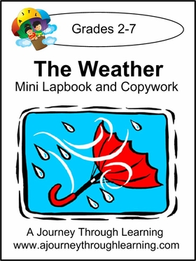 Weather Lapbook with Copywork -8.00