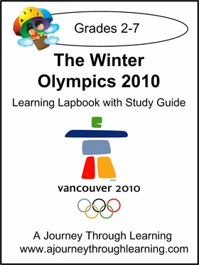 Winter Olympics 2010 Lapbook with Study Guide-4.50