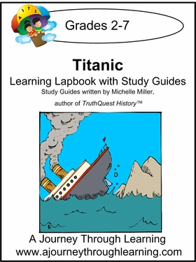 Titanic Lapbook with Study Guide--8.00
