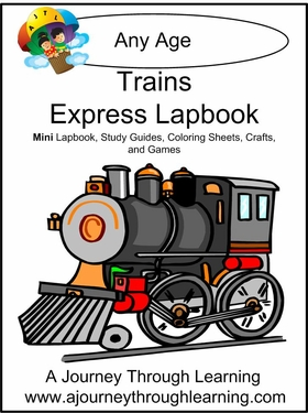 Trains Express (Quick) Lapbook