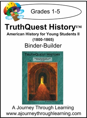 TruthQuest American History for the Young Child II Binder-Builder