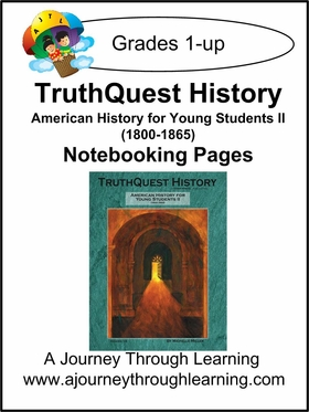 TruthQuest American History for the Young Child II Notebooking Pages