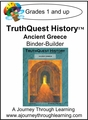 TruthQuest History Ancient Greece Binder-Builder