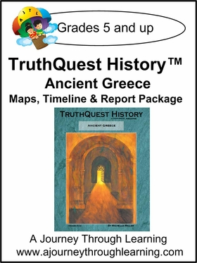 TruthQuest History Ancient Greece Maps, Timeline, and Report Package