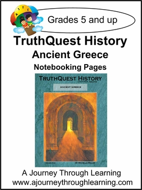 TruthQuest History Ancient Greece Notebooking Pages