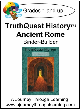 TruthQuest History Ancient Rome Binder-Builder