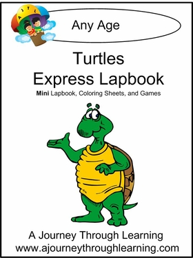 Turtle Express (Quick) Lapbook