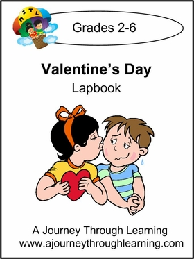 Valentine's Day Lapbook with Study Guide -8.00