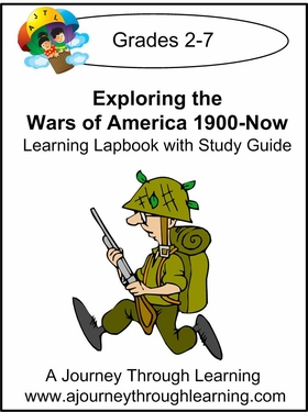 Exploring Wars of America 1900-Now Lapbook with Study Guide-8.00