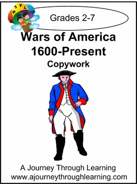 Wars of America Cursive Style 1--4.50