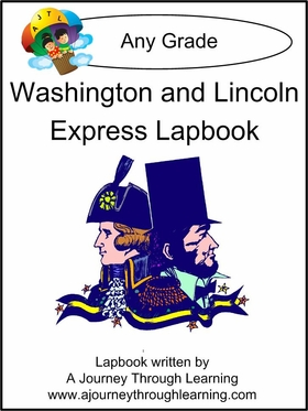 Washington and Lincoln Express (Quick) Lapbook