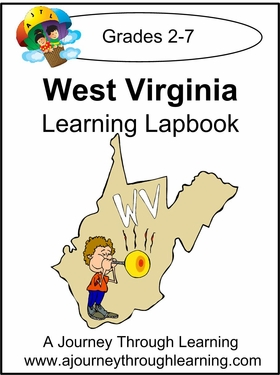 West Virginia State Study Lapbook-8.00