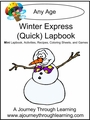 Winter Express (Quick) Lapbook