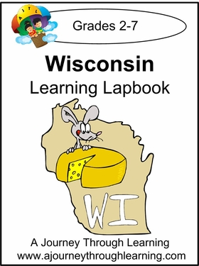 Wisconsin State Study Lapbook--8.00
