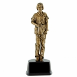 10-1/2 INCH FEMALE NURSE TROPHY