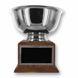 12 INCH DIAMETER SILVER PAUL REVERE BOWL TROPHY