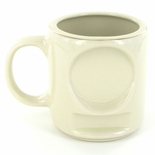 12 OUNCE BEIGE COFFEE MUG WITHOUT 2 INCH INSERT AND PLATE