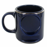 12 OUNCE BLUE COFFEE MUG WITHOUT 2 INCH INSERT AND PLATE